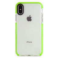 Gecko Ultra Tough Bump Slim Case for iPhone X - Glow Green - GG840203