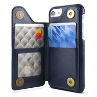 Gecko Back Wallet Case iPhone 8/7/6/6S - Navy