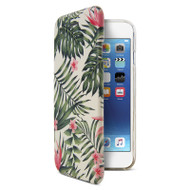 Gecko Ultra Tough Hard Cover Protection Flip case for iPhone 8/7/6/6s - Tropical Flora