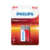 Philips 9V Power Alkaline Battery