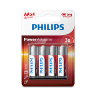 Philips AA 4 pack Power Alkaline Batteries