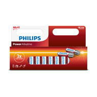 Philips AA 12 pack Power Alkaline Batteries