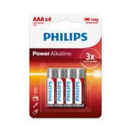 Philips AAA 4 pack Power Alkaline Batteries