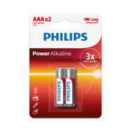 Philips AAA 2 pack Power Alkaline Batteries