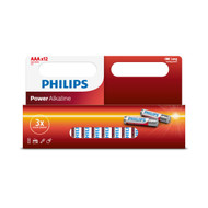 Philips 12 pack of AAA Power Alkaline Batteries