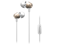 Pioneer Deep Bass In Ear Headphones Gold