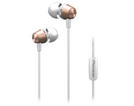 Pioneer Deep Bass In Ear Headphones Rose Gold