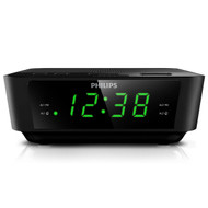 Philips AJ3116 Digital Alarm Clock Radio front
