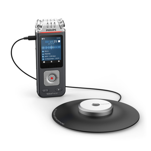 Philips Voice Recorder with 360 degree mic