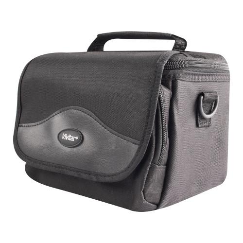 Vivitar Black Carry Bag Front Side
