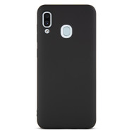 Gecko Gear Black Flex Case for Samsung A20 and A30