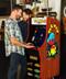 Arcade1Up Pac-Man Premium Machine in use