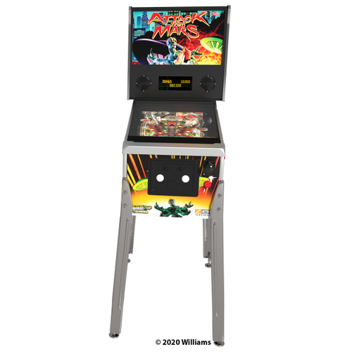 Arcade1Up Attack from Mars Digital Pinball - front