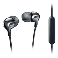 Philips In-EarGel with Mic Black - SHE3705BK