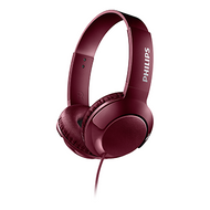 Philips BASS+ On-Ear - Red - SHL3070RD