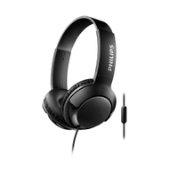 Philips BASS+ On-Ear W/Mic Black - SHL3075BK