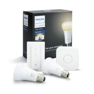 Hue White Ambient Starter Kit Box and Contents