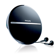 Philips Portable CD Player Black - EXP2546