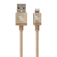 Gecko Lightning to USB Metallic Cable 1.2m - Gold