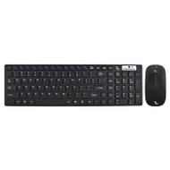 Gecko Wireless Keyboard and Mouse Bundle - Black