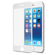 Gecko Tempered Glass Full Cover for iPhone 7/6/6s - White
