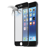 Gecko Ultra Tough Tempered Glass with Silicon Bumper for iPhone 7/6/6s - Black