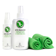 Gecko Clearscreen Spray Bundle 250ml, 60ml, 2 x Cloth - Extra Large