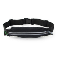 Gecko Active Single Pocket Fitness Belt - Black