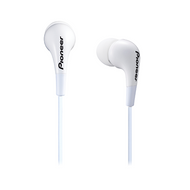 Pioneer fully enclosed White Dynamic earphones - SECL502W