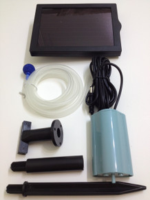 Solar Power Oxygenator Air Pump Oxygen Pool Pond