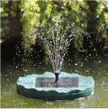 Solar Floating Lily Fountain