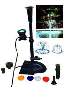 Submersible pump with light combo (#PL10254-COMB)