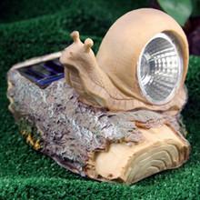 Solar Cute Snail Spotlight