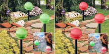 2-Pack Hanging/Landscape Solar Ball Lights