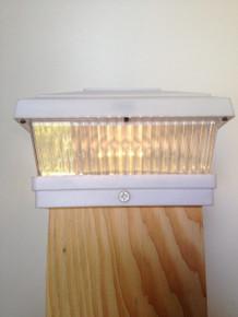 Wood model with Warm White LED