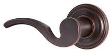 Weiser Lock Rustic Bronze Brooklane Single Cylinder Lever Interior Pack