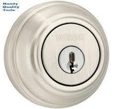 Weiser Lock Single Cylinder Keyed Entry Deadbolt (or Double Cylinders)