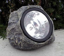 Solar Stone Rock Spot Light 3 White LEDs