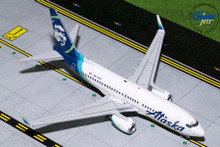 Gemini200 ALASKA B737-700(W) (New Livery) N614AS G2ASA778 1:200