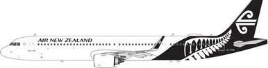 Phoenix Models AIR NEW ZEALAND A321neo (White,Black Tail) ZK-NNB PH4ANZ1843 1:400