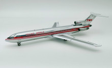 TWA Boeing 727-200 N64339 With Stand IF722TW1018P Inflight200 1:200