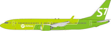 Inflight200 S7 - Siberia Airlines Boeing 737-8 MAX VQ-BGW IF73MAXS70319 1:200
