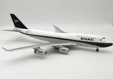 Inflight200 BOAC / BRITISH AIRWAYS G-BYGC Boeing 747-400 (100 year anniversary) BA100 1:200