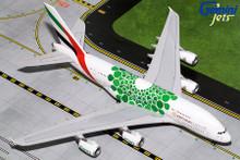 Gemini200 EMIRATES A380-800 (Green Expo 2020) A6-EEW G2UAE774 1:200