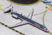 Gemini Jets AMERICAN MD-80 (Polished) N9621A GJAAL1794 1:400