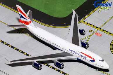 Gemini Jets BRITISH AIRWAYS B747-400 G-BYGF GJBAW1792 1:400