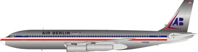 Inflight200 American Airlines Boeing 707-100 N7509A Polished IF701AB001P 1:200