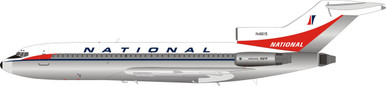 Inflight200 National Airlines Boeing 727-100 N4615 Polished IF721NA0119P 1:200