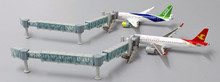 JC Wings NARROW BODY AIR PASSENGER BRIDGE LH4AIR135 1:400