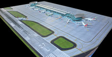 NEW AIRPORT MAT SET FOR NEW TERMINAL GJAPS008 1:400
